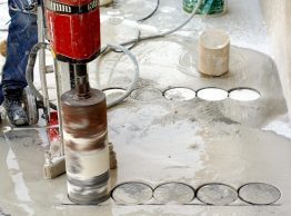 Industrial,Concrete,Drilling