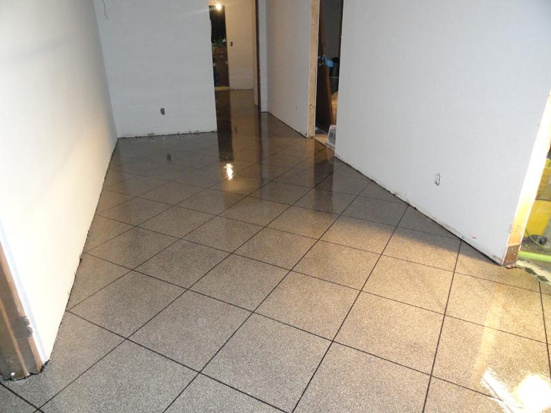 Concrete Floor Grinder 4 Lines