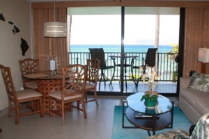 One of our 1-bedroom vacation rentals at Papakea Resort