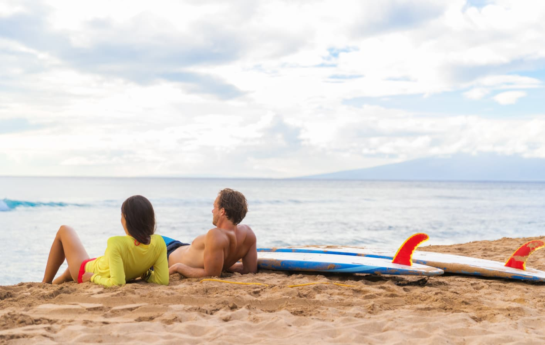 Talking story on Maui
