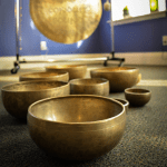 singing bowls and gongs for sound healing, sound meditation services, and sound baths