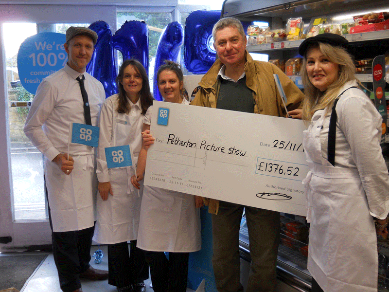 Petherton Co-op Customers raise money for new PPS screen