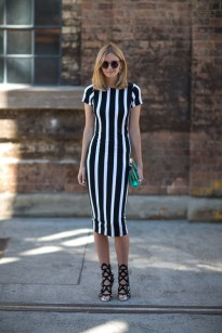 StreetStyle - B&W/Stripe trend