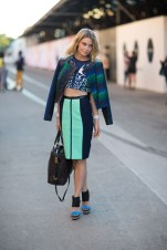 StreetStyle - Blue/MixPatterns Trend