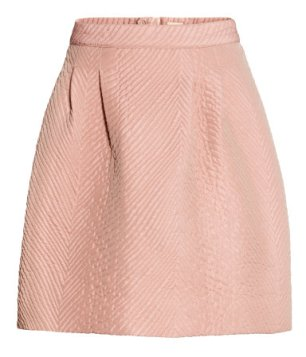 Structured Old Rose Pink Skirt €39.99