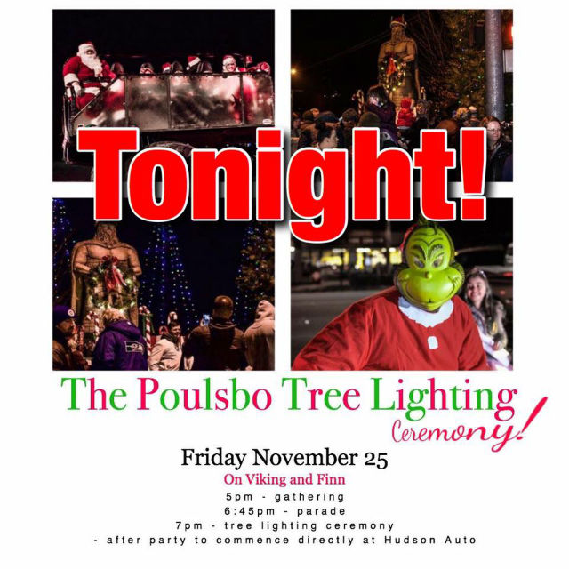 Come & Be Merry At The Poulsbo Tree Lighting Ceremony