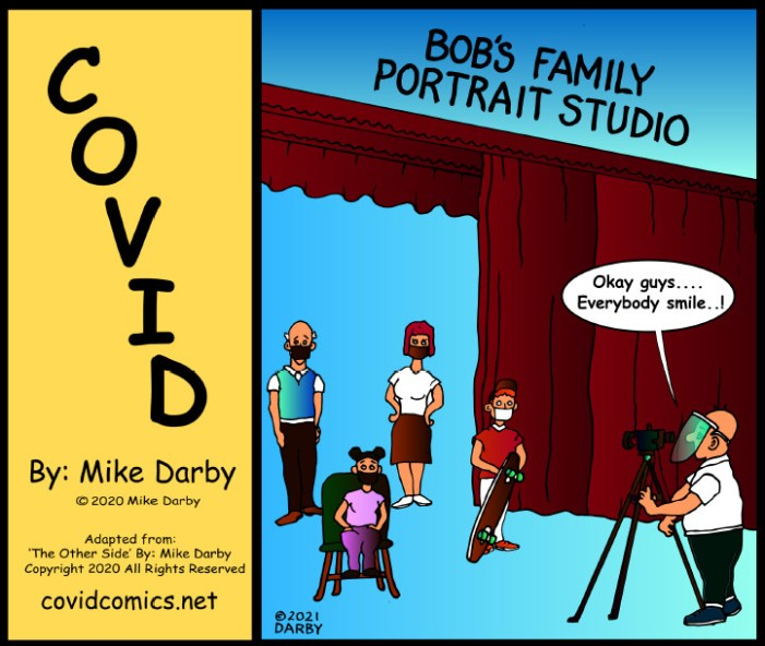 A Covid Comic ~ By Mike Darby