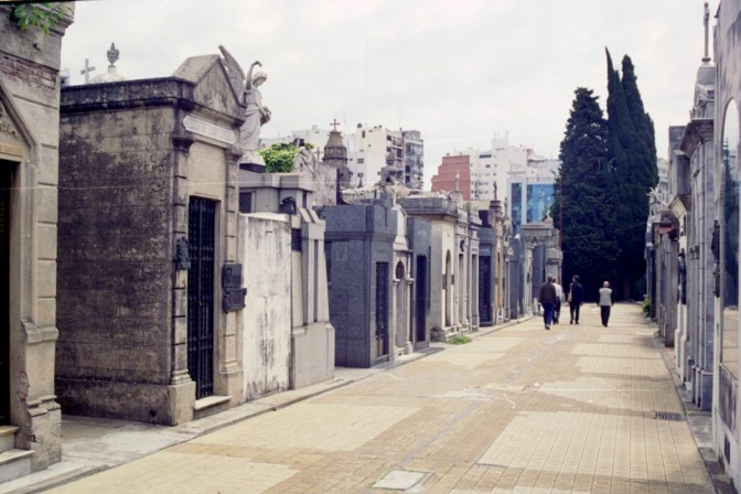 Visiting Recoletta Cemetery in Buenos Aires