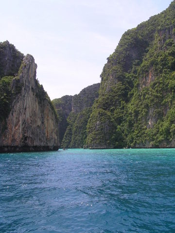 Off the Phi Phi Islands