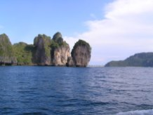 Off the Phi Phi Islands, Thailand