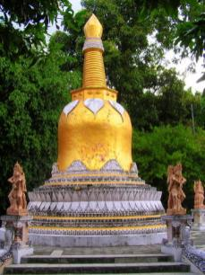 Bali's only Buddhist temple
