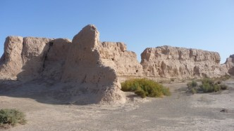 Ancient site enroute to Yulin