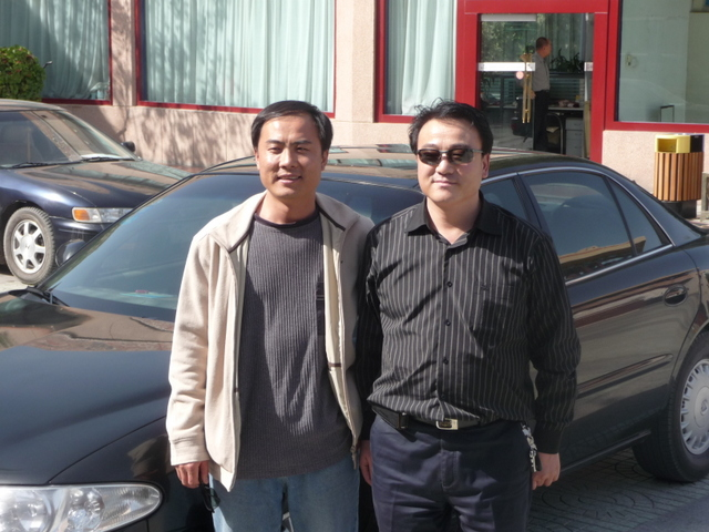 Lui Chen and our driver