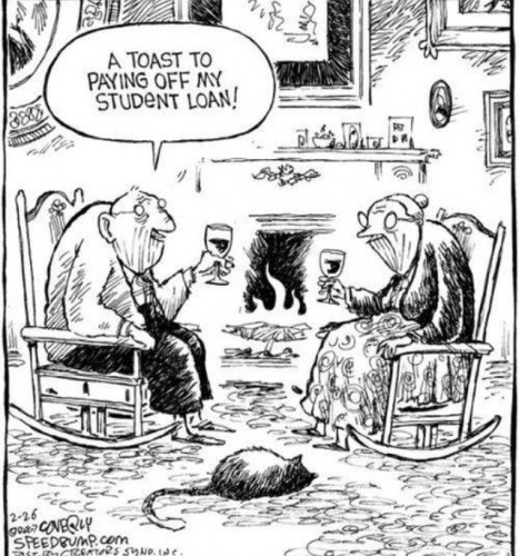 Elderly Paying Off Student Loans