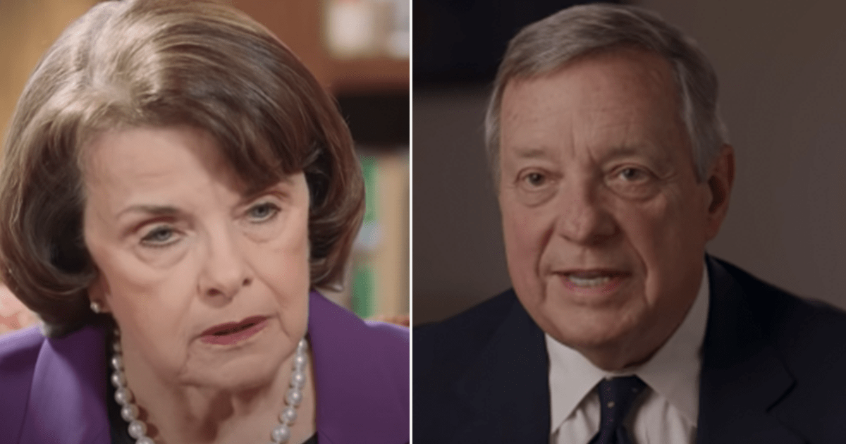 Dick Durbin announces he's seeking role of top ranking Dem on Judiciary panel as Feinstein steps down