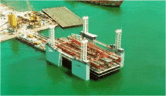 Floating caisson fabrication
