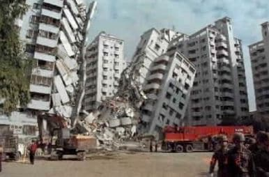 Toppling of Tall Building