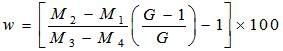 Pycnometer Method Formula