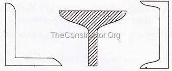 Single structural shapes for tension member