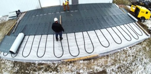 Concrete Curing in Cold Weather