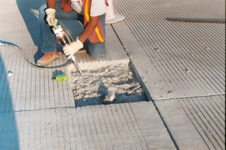 Removal of Unsound concrete