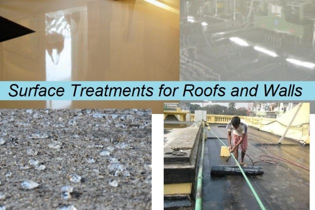 Surface Treatments for Walls, Roofs, and Floors: Types and Purposes