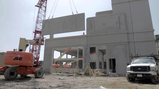 Precast Concrete Construction Process