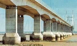 Inspection of a Bridge structure