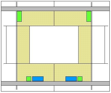 Fixing positioning for precast cladding