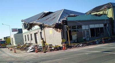 earthquake effects on small building