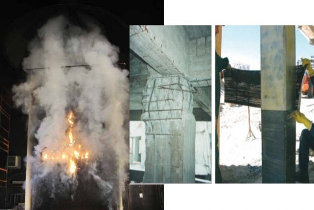 Effect of Fire and High Temperature on FRPs