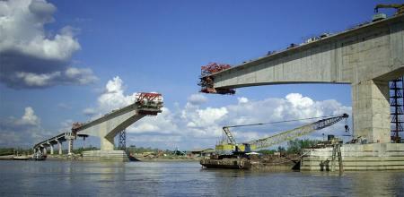 Balanced Cantilver Bridge Construction