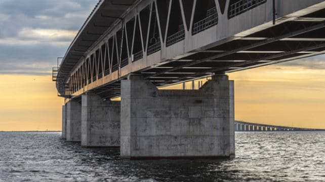 RCC Structures Subjected to Sea Water Directly