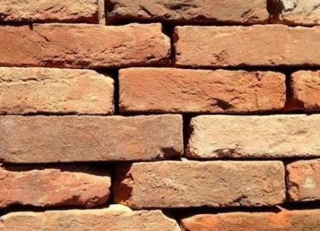 under burnt bricks
