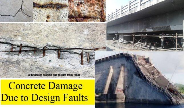 Common Design Faults Causing Damage to Concrete