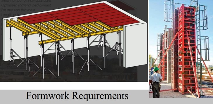 Formwork- Technical, Functional, Economical, and Safety Requirements