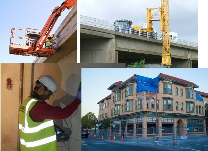 TYPES OF INSPECTION OF CONCRETE STRUCTURES