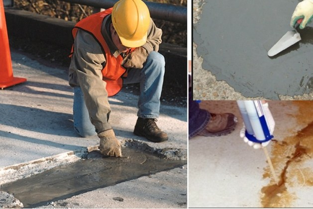 Materials for Repair of Concrete Structures – Types and Selection Criteria