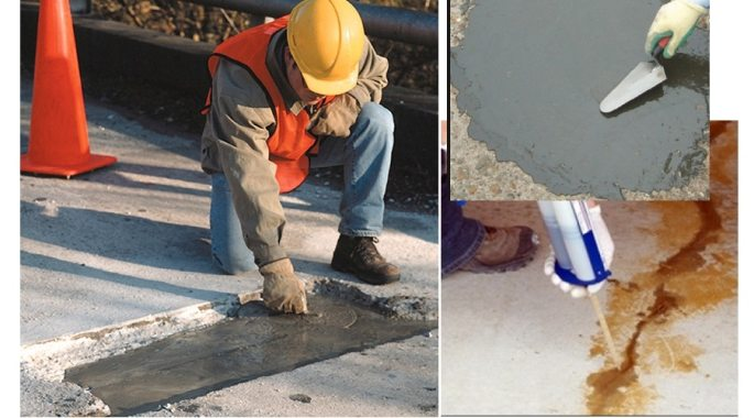 Materials for Repair of Concrete Structures- Types and selection criteria