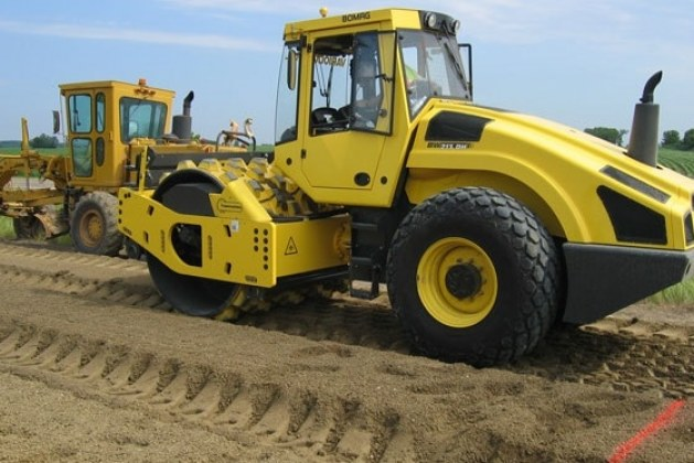 Different Types of Soil Compaction Equipment: Types of Rollers