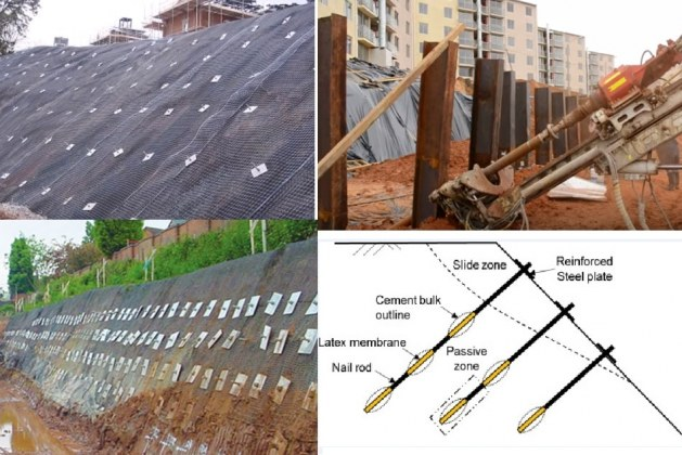 Soil Nailing Technique, Its Types, applications, and installation considerations