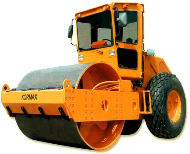 Vibrating smooth wheeled rollers