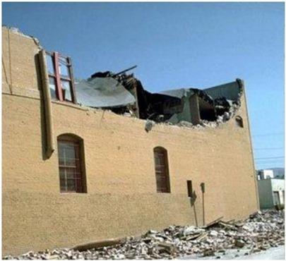 Out-of-plane failure of masonry walls