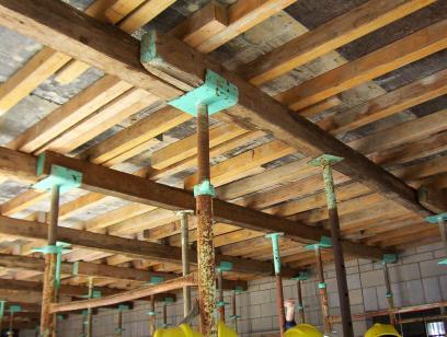 Formwork For Reinforced Concrete Slab