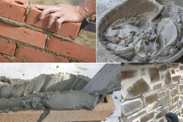 20 Types of Mortar Used in Masonry Construction