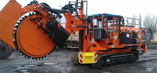 Wheeled trenchers