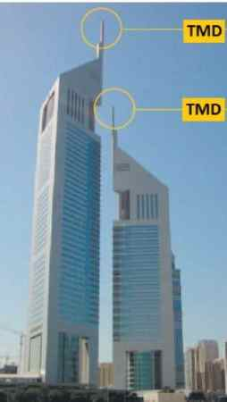 Tuned mass damper of Emirate tower