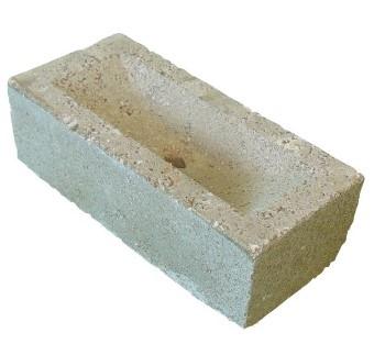 Frogged Brick Concrete Blocks