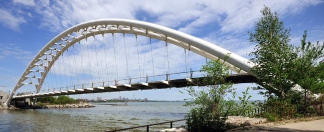Types of Bridges Based on Structure - Arch Bridge