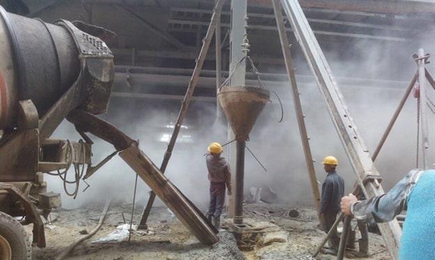 Direct Mud Circulation Method of Pile Foundation Installation